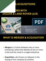m&a of Tatamotors and Jaguars