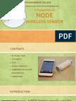 Node Wireless Sensor