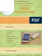 Node Wireless Sensor