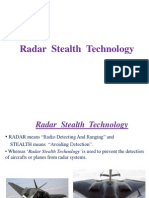 Radar Stealth Technology