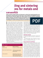 Debinding and Sintering Solutions for Metals and Ceramics
