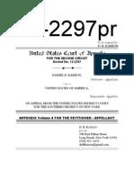 12-2297 Karron CoA Appendix v08