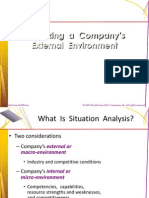 6 External Environmet Analysis