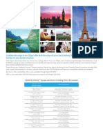 Celebrity Infinity & Eclipse Europe Shore Excursions