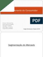 Trabalho Power Point Comportamento Do Consumidor