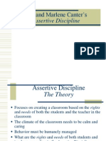 Assertive Discipline-lee and Marlene