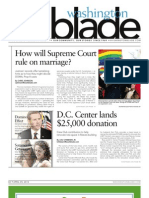 Washingtonblade.com - Volume 44, Issue 14 - April 5, 2013