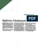 Schubart Park registrations