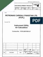 12 MGDP I 1150 0 (Instr Utility Air Calculation)