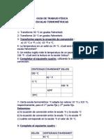 GUIA DE TRABAJO FÍSICA 2ºmedio