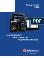 HDFC Securities Annual Report 11-12 Final