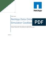 NetApp Data Ontap Simulator Cookbook 1.1