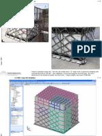LS-DYNA Cargo Net Simulation