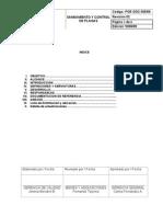 Poe Ggc 005-09 Saneamiento y Control de Plagas Con Empresa Ext.