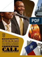 2013 Austin Convention Call - Ad Form