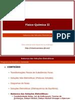 QuimFisica2Cap5 Natureza Das Solucoes Eletroliticas