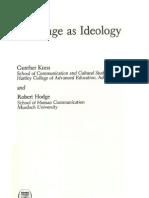Kress & Hodge_Language & Ideology_Cap 5_Utterances in Discourse_p. 85-102