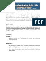 Protocolo Para Enfermedad Laboral Prefabricados Huila Ltda.