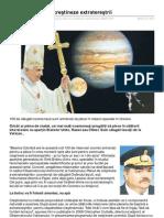 Vaticanul vrea să creştineze extratereştrii - 18 Mai 2010