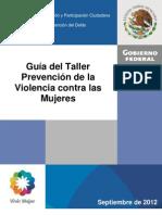 Gui¿a Prev. Violencia contra las mujeres