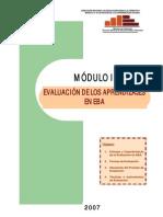 Modulo II Evaluacion de Los Aprendizajes en Eba