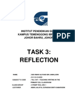 Cover Writing Task 3