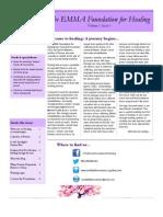 first newsletter 04 2013
