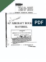 TM 9-395aa 4-5 Inch Rocket Material