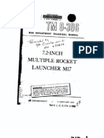 TM 9-396a 7-2 Inch Multiple Rocket Launcher M17