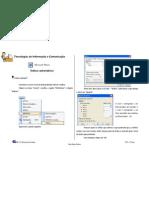 Ficha Informativa MS word - indice automáticos
