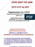 RESOLUCION 3047 -08