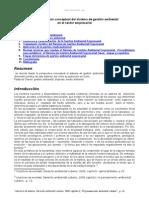 Fundamentacion Conceptual Del Sistema Gestion Ambiental Sector Empresarial