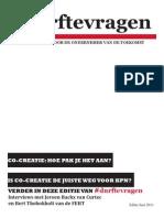 IPad magazine over co-creatie