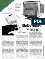Biofeedback Monitor