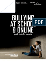 Bullying at School and Online
