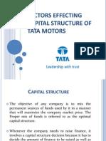 24439790 Capital Structure of Tata Motors