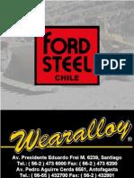 Fordsteel Catalogo