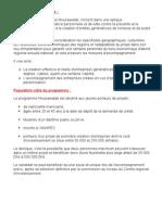 Objectifs Du Programme Et Population Cible