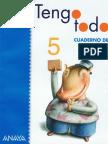 Tengo Todo 5 Temas 4 y 5 Cuadernillo Lengua