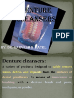 denture cleansear
