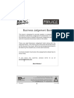 Business Judgement Book-XAT