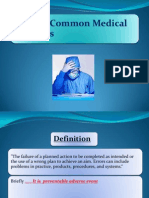 10 Most Common Medical Mistakes