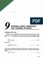 Bab9-Integral Garis, Permukaan Dan Teorema Integral