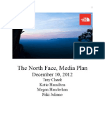 The North Face Media Plan