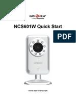 NCS601W Quick Start