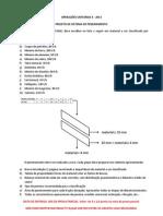 Projeto de Sistema de Peneiramento - 2013