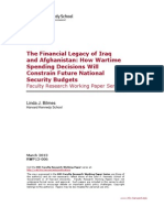 The Financial Legacy of Iraq  and Afghanistan
