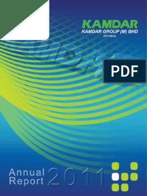 KAMDAR AnnualReport2011 (2 1MB)   Internal Audit   Audit