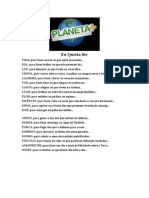 Eu Queria Ser - Planetamais - 02-10-2012