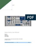 Alpha Manual 300